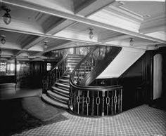 First Class entrance on the Empress of Ireland.