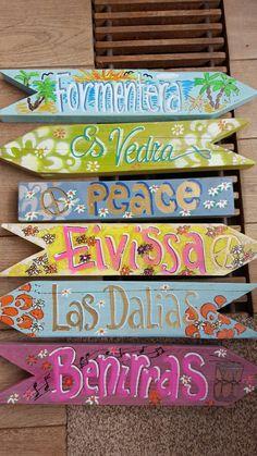 #wegwijzers#ibiza #boho#hippie#vakantie#tuin