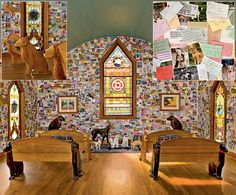 Dog Chapel by Stephen Huneck