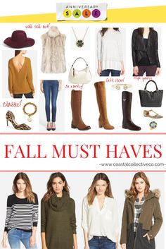 Nordstrom Anniversary Sale - Top Picks for Fall 2015 — Coastal Collective Co.