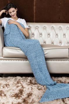 Light blue mermaid blanket,mermaid,mermaid blanket,mermaid tail,mermaid tails,mermaid tail blanket,cheap mermaid blanket,high quality mermaid blanket,high quality hand made,sofa blanket,hand made