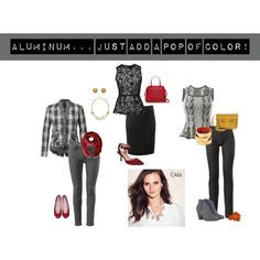 """Aluminum... Just add a pop of color"" by vpetalas on Polyvore"