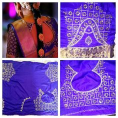 Stunning South Indian Bridal Blouse Design #BridalBlouse #SouthIndianBridalBlouseDesign