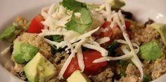 CPK BBQ Chicken Quinoa Salad