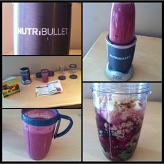 Breakfast time! #nutribullet #nutriblast with banana, red grapes, strawberry, blueberry, raspberry, spinach, walnut, coconut water, & water. #nutrishape #nutristrong #nutrifit #fitness #healthy #healthyeating #breakfast #food #foodporn #delicious #berry #banana