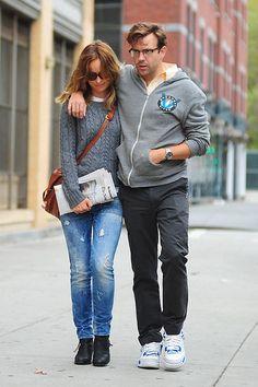Jason Sudekis & Olivia Wilde  http://www.thefirst10minutes.com