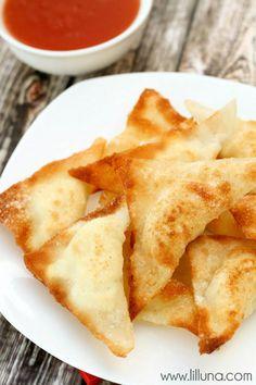 Cream Cheese Wontons recipe #Asian_food #Asian_recipes #appetizers