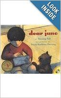 When Juno's parents are too busy to read him a letter from his grandmother in Korea, Juno decides he can't wait for them to help, and opens the letter himself....From Amazon