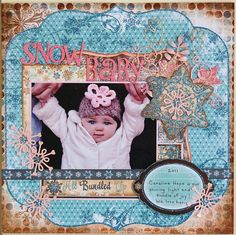 Layout: Snow Baby