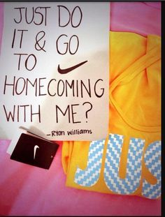 Prom Proposal on Pinterest | Sadie Hawkins, Prom and Homecoming