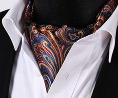 Colorful Paisley Ascot Tie $39.99.   Handmade and 100% Silk http://www.tieaficionado.com