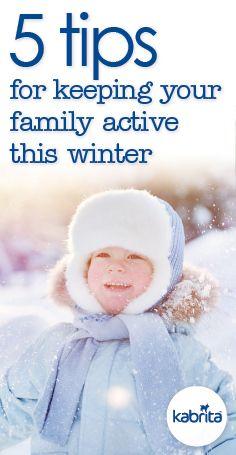 Winter often calls for cuddles and comfort food, and physical activity isn't always top of mind. But staying active often comes with a whole hosts of benefits for kids and the whole family. Check out our 5 tips for keeping your family active this winter.