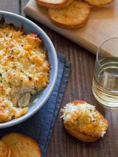 Get your nom on with our hot, creamy lump crab and corn dip -- get the recipe: http://www.hgtv.com/entertaining/14-warm-weather-party-appetizers/pictures/page-13.html?soc=pinfave#