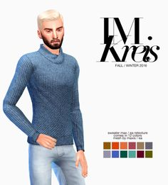 Ecoast : Im Kreis Man Fall / Winter Collection: Look #2 - Sweater max.