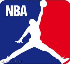Michael Jordan NBA Logo