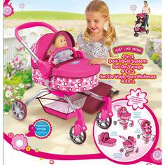 Graco Symbio 4 in 1 Doll Travel System