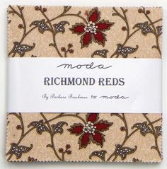 Moda Richmond Red by Barbara Brackman