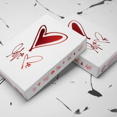 Love Me Playing Cards 3 Pack, $18.50, now featured on Fab. For that special nite of strip poker.