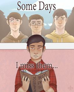 Some Days I Miss Them by TheRedDeathBringer on DeviantArt It's okay I didn't need my feelings anyway