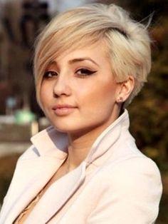 Krótkie blond fryzury - inspiracje / short blonde haircut