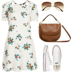 Believe that life is worth living and your belief will help create the fact. by andreiasofsm on Polyvore featuring Topshop, Converse, Mulberry and H&M