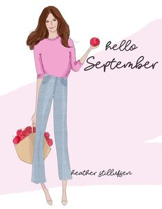 it's time for apple picking and tailgate parties.back to school and Fall arrives . Neuer Monat, Positive Quotes For Women, Hello Weekend, New Month, Months In A Year, Woman Quotes, Seasons, Beauty, Collection