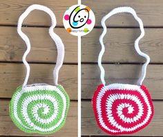 Peppermint Purse Crochet Pattern - Snappy Tots
