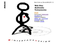 Web Design from 1995 to 1998 My design company web site