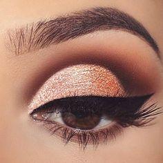 Make Up – 60 Ways to Apply Eyeshadow for Brown Eyes ★ Best Eyeshadow … - Prom Makeup Eyeshadow For Brown Eyes, Best Eyeshadow, How To Apply Eyeshadow, Makeup For Brown Eyes, Applying Eyeshadow, Applying Makeup, Eye Makeup Glitter, Eye Makeup Tips, Prom Makeup