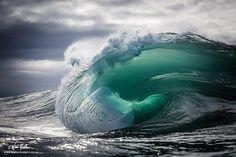 Just beautiful, Teal by Warren Keelan