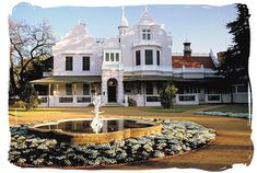 Melrose House in Pretoria, where the peace treaty of Vereeniging was signed on the 31st of May 1902, ending the second Anglo-Boer war