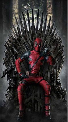 "Game of Deadpool ""You win or you Die"" GoT Game of Thrones theme phone wallpaper lock screen background. For iPhone and Android. Marvel Avengers, Marvel Art, Marvel Memes, Marvel Dc Comics, Avengers Superheroes, Hulk Superhero, Ms Marvel, Captain Marvel, Deadpool Art"