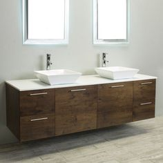 Eviva Luxury 72 in. Double Bathroom Vanity Set - EVVN823-72RSWD