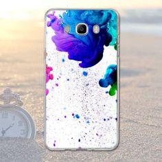 New fashion for Samsung Galaxy J7 (2016) J710F J710 Case Soft Silicon Snow Road Beach Landscape For Galaxy J7 2016 Case Cover