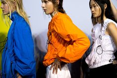 MSGM SS17 Milan womenswear backstage Dazed