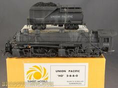 HO Sunset UP Union Pacific Bull Moose 2-8-8-0 Articulated #3518