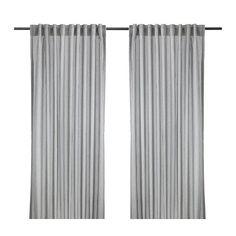 GULSPORRE Verhot, 2 kpl IKEA Suodattavat sisään tulevan valon määrää ja estävät näkemästä ulkoa sisälle.