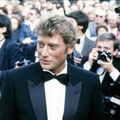 Johnny Hallyday à Cannes en mai 1984