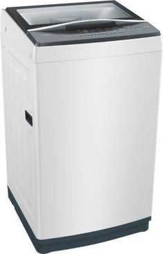 Bosch Kg Fully-Automatic Top Loading Washing Machine price in india White) - India Smart Price Washing Machine Price, Washing Machines, Home Appliances, India, Top, House Appliances, Washers, Kitchen Appliances, Goa India
