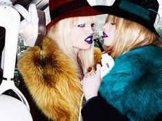 Look Sharp | Mario Testino #photography | Allure September 2011