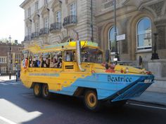London Duck Tours - Top 5 London Attractions for Kids #London