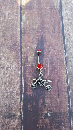 Dirt Bike Navel Belly Button Ring for the by GunPowderWoman Gunpowder Woman Country Girl Hunting Country Wedding Fishing Jewelry Bullet Jewelry Redneck Country Deer Hunting Browning Camo Realtree Mossy Oak Guns Firearms Shotgun Shell Jewelry Archery Bullet Ring Bullet Earrings Huntress Fox Racing ATV Motocross