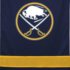 NHL Buffalo Sabres Hockey Team Logo Wall Hanging Accent