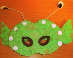 Αποκριάτικες μάσκες.. μικροί εξωγήινοι!   Η Χώρα των Παραμυθιών