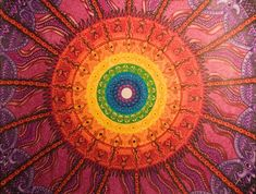 Chakras The 7 Chakras are the energy centers in our body in which energy flows through. Blocked energy in our 7 Chakras can often lead to illness Arte Chakra, Chakra Art, Chakra Healing, Mandalas Painting, Mandalas Drawing, Zentangles, 7 Chakras, Yogi Bhajan, Sutra