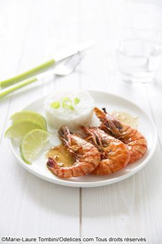 Gambas bio a l'ail et au miel - Food4GoodFood4Good