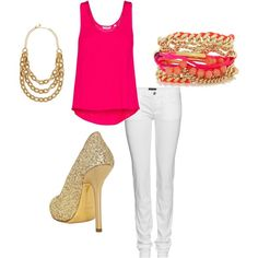 pink and gold #style #fashion +++For more tips + ideas, visit http://www.makeupbymisscee.com/