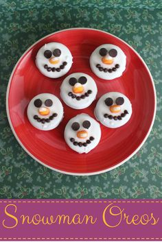 Shared at Thank Goodness It's Thursday: Snowman Oreos | Growing up Madison