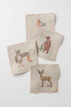 Woodland Gifts Napkin Set