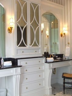 Spitzmiller & Norris Premier Residential Designers | Architectural Details | Interior | Bathroom Cabinets | Vanities :: Spitzmiller & Norris, Inc.